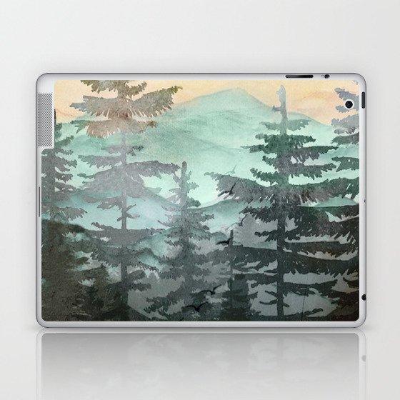 Pine Trees Laptop & iPad Skin
