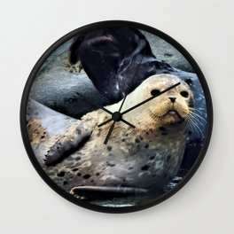 Pouty Baby Wall Clock