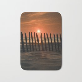 Sunset in the Lowlands Bath Mat