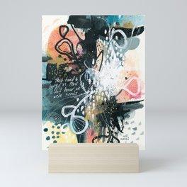 EMERGE // seeds Mini Art Print