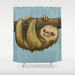 Why Am I Always Late? Shower Curtain