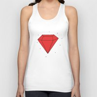 ruby Tank Tops featuring Ruby  by Normandie Illustration