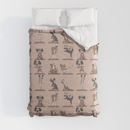 Chinese Crested Yoga Comforters