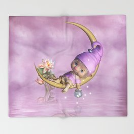Fairy Baby Throw Blanket