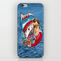 jaws iPhone & iPod Skins featuring Jaws  by Christopher Chouinard