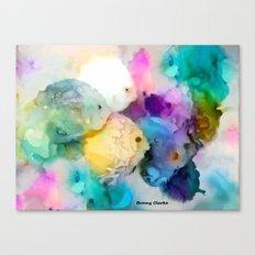 Here Fishy Canvas Print