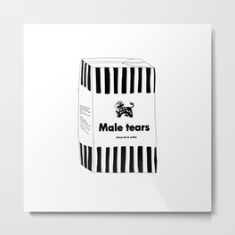 MALE TEARS MILK Metal Print