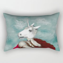 Sir Unicorn Rectangular Pillow