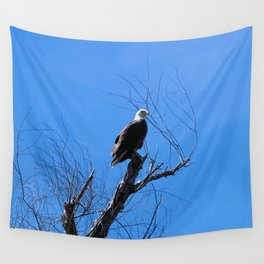 Clear Sight (Bald Eagle) Wall Tapestry