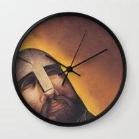 hamlet Wall Clocks featuring Hamlet by Mono Ahn