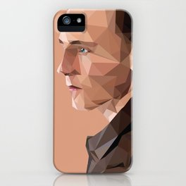 Tom Hiddleston - Low Poly iPhone Case