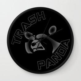 I am NOT a Trash Panda! Wall Clock
