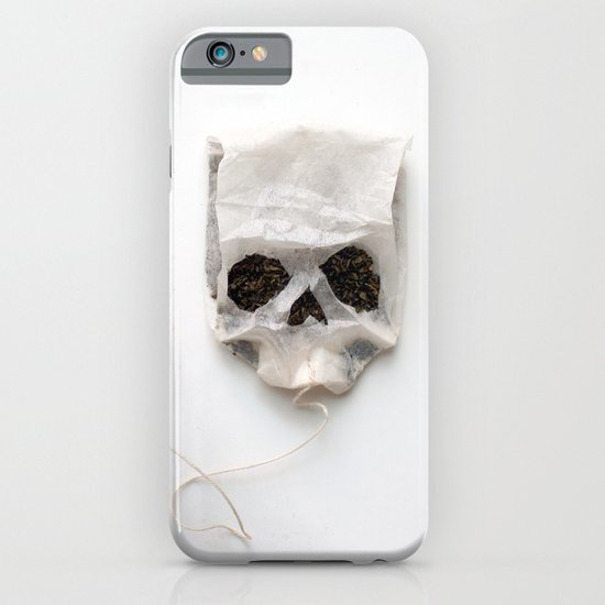 253. Tea Bag Skull iPhone & iPod Case