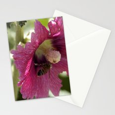 Buzzing here and there Stationery Cards