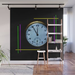 Time is Money Wall Mural