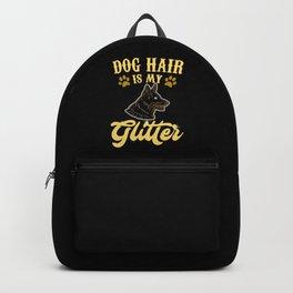 Dog Hair Is My Glitter Backpack