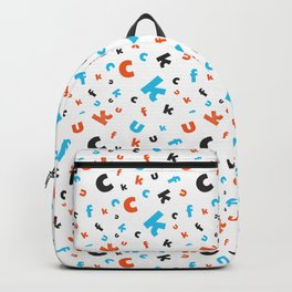 Naughty letters Backpack