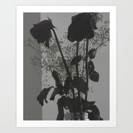 Dark Flora Art Print