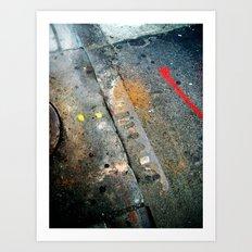 Marker Art Print