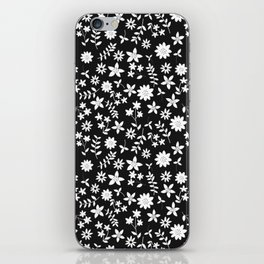 petite flowers iPhone Skin