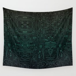 Circuitry Details Wall Tapestry