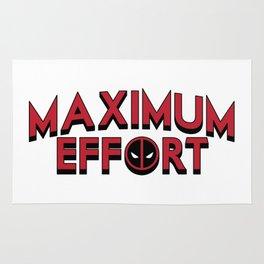 Maximum Effort Rug