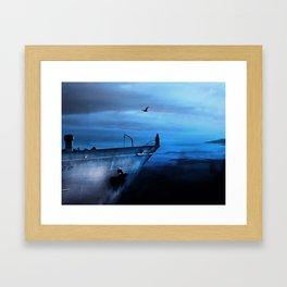 icecold longing Framed Art Print
