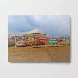 Route 66 Dreams Metal Print