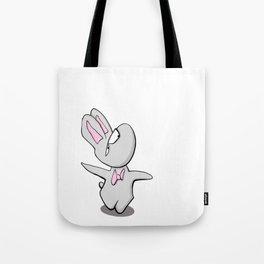 Scribble2Masterpiece - Grumpy RABBIT animal! Tote Bag