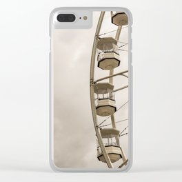 The Gondola Ride Clear iPhone Case