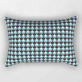 Ghastly Graphic Pattern Face Rectangular Pillow
