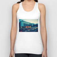rush Tank Tops featuring Rush Hour  by hannes cmarits (hannes61)