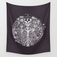 general Wall Tapestries featuring The General by nino benito