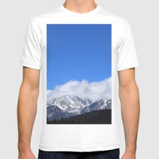 Hidden Peak Mens Fitted Tee White MEDIUM