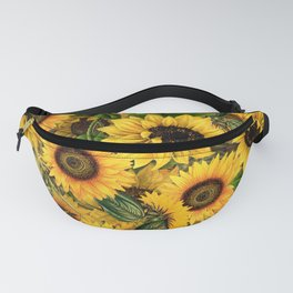 Vintage & Shabby Chic - Noon Sunflowers Garden Fanny Pack