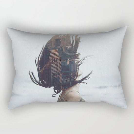 Leave it all behind Rectangular Pillow