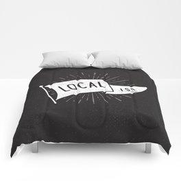 Localist Comforters