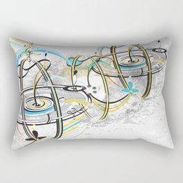Go Around Come Around 'Refixed Bridges'  Rectangular Pillow