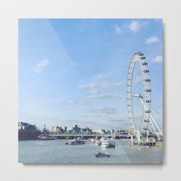 View from Westminster Bridge Metal Print