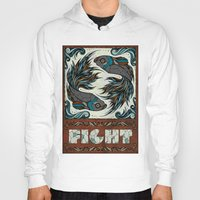 fight Hoodies featuring Fight by Andreas Preis