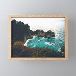 Big Sur, CA | McWay Falls Framed Mini Art Print