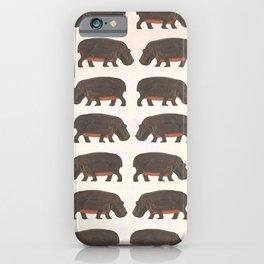 Hippo,hippo iPhone Case