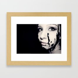 Portrait 01 Framed Art Print