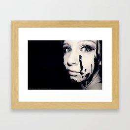 Portrait 01 Framed Art Print