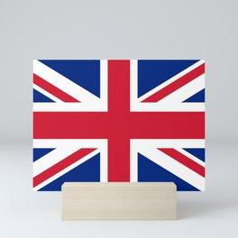 UK FLAG - Union Jack Authentic 1:2 scale  Mini Art Print