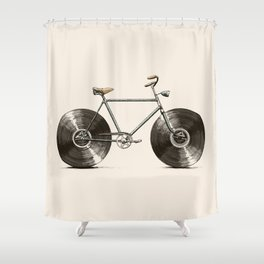 Velophone Shower Curtain