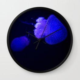 Purple Colors Wall Clock