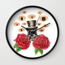 Eye See Dead People Wall Clock