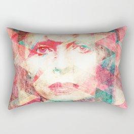 Bowie abstraction Rectangular Pillow