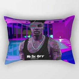 Mask Off Rectangular Pillow